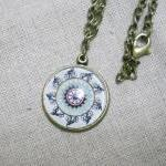 Glass Pendant Necklace, Phe..