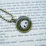 Panda Necklace, Animal Neck..