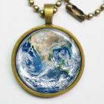 Planet Necklace - The Earth..